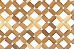 wicker текстуры плиты циновки пластичный Стоковая Фотография