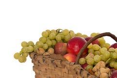 wicker хлебоуборки корзины осени Стоковая Фотография