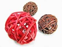 wicker шариков Стоковые Фото
