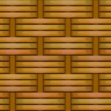 wicker безшовной текстуры картины корзины сотка Стоковые Изображения RF