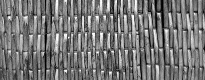 Wicker. Texture with close up Stock Photo