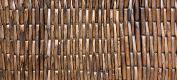 Wicker. Texture with close up Royalty Free Stock Photos