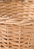 Wicker. Texture close up on white background Stock Image