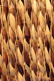 Wicker Background. Closeup of the side of a wicker basket Royalty Free Stock Image