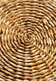 Wicker background, close up, brown Stock Image