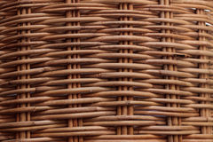 Wicker background image Royalty Free Stock Image