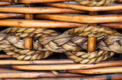 Wicker background Royalty Free Stock Photo