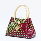Wicker bag Royalty Free Stock Photo