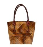 Wicker bag Royalty Free Stock Photos