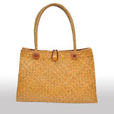 Wicker bag  Stock Photography