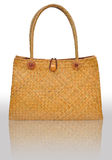 Wicker bag  Stock Images