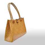 Wicker bag  Royalty Free Stock Image