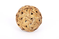 Wicker ball Royalty Free Stock Photo