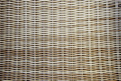 Wicker and bamboo background Royalty Free Stock Images