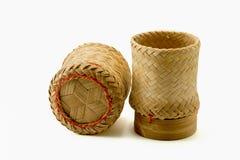 A wicker bamboo Royalty Free Stock Photos