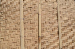 Wicker bamboo wall. Background, texture. Natural background, texture. Wicker bamboo Stock Images