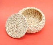 A wicker basket Royalty Free Stock Photo