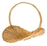 Wicker basket. Photo of a wicker basket Stock Image