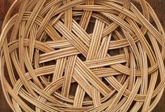 Wicker basket abstract Stock Photo