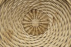 Wicker basket background royalty free stock image