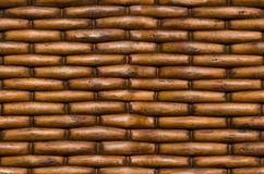 Wicker basket background texture seamlessly tileable Stock Images