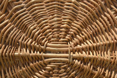 Wicker basket background Royalty Free Stock Photos