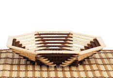 Wicker basket Royalty Free Stock Photography