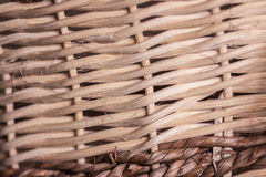 Wicker Basket Detail. Abstract Background royalty free stock photography