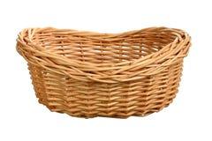 Wicker basket Stock Image