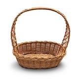Wicker basket Stock Photos