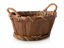Wicker basket Stock Photo