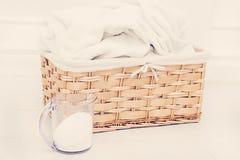 Wicker basket Stock Photography