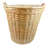 Clothes basket. Royalty Free Stock Photos