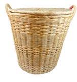 Clothes basket. Royalty Free Stock Photos
