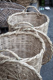 Wicker basket in marketplace,Gafsa,Tunisia Royalty Free Stock Photos