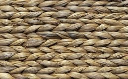 Wicker basket of reed rod. Background from wicker basket royalty free stock images