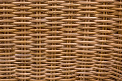 Wicker basket structure texture Stock Images