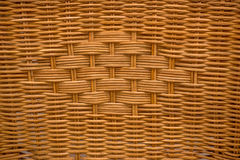 Wicker basket structure texture Stock Photography