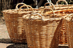 wicker basket Stock Image