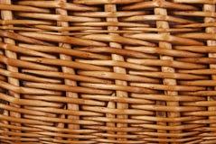 Wicker basket texture Stock Photos