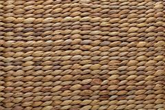 Wicker basket texture. Natural fibers royalty free stock photography