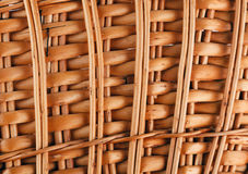Wicker basket texture Stock Photography