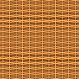 Wicker basket texture. Wooden textured basket weaving background. Seamless pattern. Vector illustration Royalty Free Stock Image
