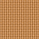 Wicker basket weaving pattern seamless texture Stock Photography