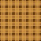 Wicker basket weaving pattern seamless texture Royalty Free Stock Photo