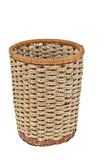 Wicker basket on white background. For any use Royalty Free Stock Photos
