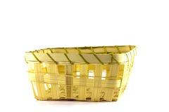 Wicker basket Stock Photo