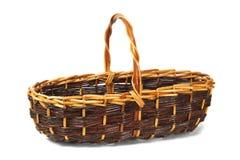 Wicker basket Royalty Free Stock Image