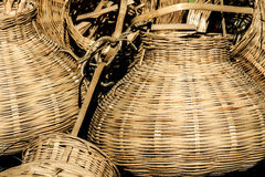 Wicker baskets Royalty Free Stock Photography