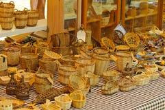 Wicker Baskets Stock Image